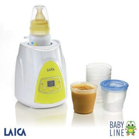 Laica Baby line digitális cumisüveg és bébiétel melegítő