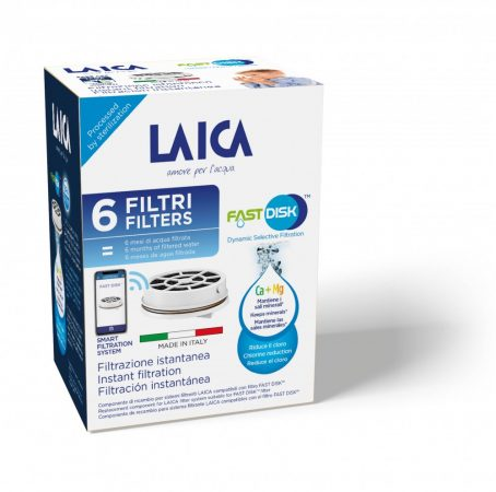 Laica Fast Disk TM vízszűrő betét - 6 db / doboz