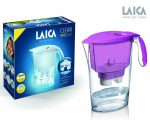 Laica Clear Line lila vízszűrő kancsó 1 db bi-flux univerzális szűrőbetéttel
