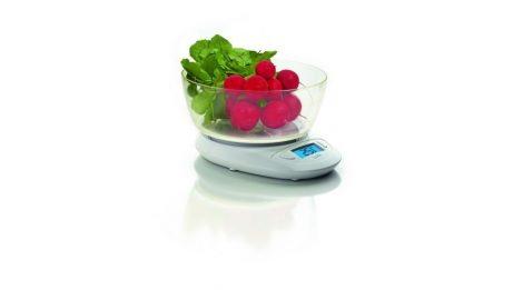 Laica digitális  konyhai mérleg,  mérőtállal  5kg/1gr
