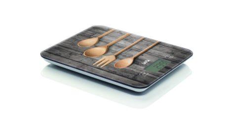 """Laica digitális konyhai mérleg """"konyha"""" """"fakanál"""" 10 kg / 1 g"""