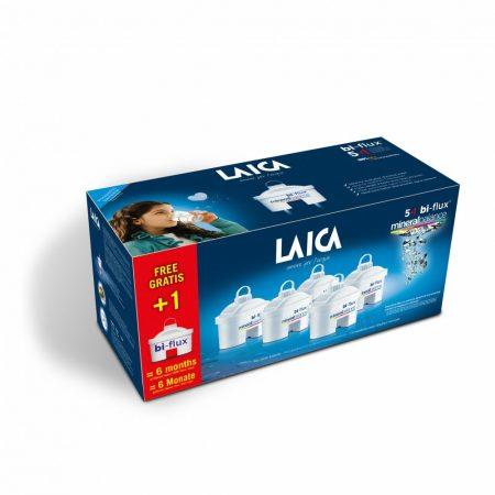 """LAICA  bi-flux """"mineral balance"""" vízszűrőbetét - 5 + 1 db  ajándék"""