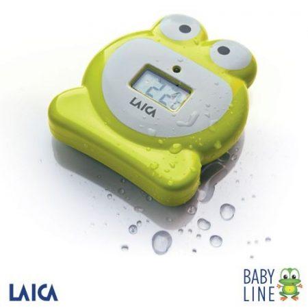 Laica Baby line gyermek fürdő hőmérő, béka forma