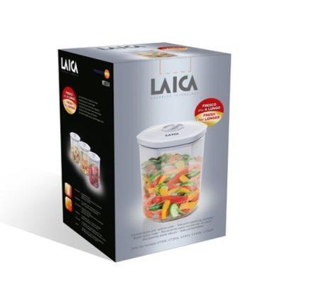 Laica 1 db-os  vákuumozható tároló / marináló BPA mentes henger - 2 liter